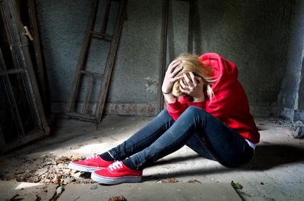 Stop au harcèlement à l'école adolescente